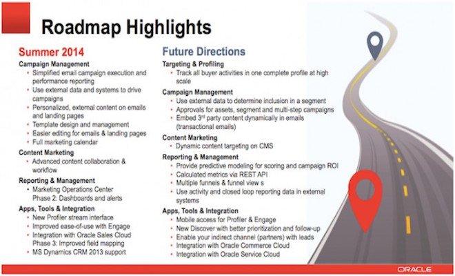 Roadmap Highlights Eloqua Summer 2014 740x301pxl e1402834800208