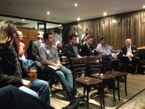 We had people from a range of businesses attend the session, 30+ people contributed to the extensive discussion.