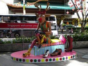 Singapore Celebrating Christmas on Orchard Road.