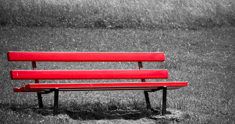 FEATURED IMAGE Red Park Bench 760x400pxl