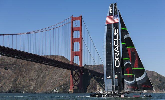AC72 Sail 4 / Foiling / ORACLE TEAM USA / San Francisco (USA) / 01-10-12