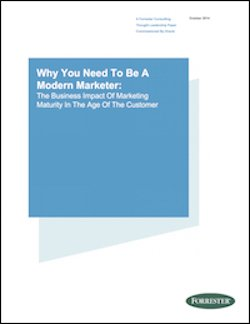 FP OMC Forrester 2014 Report Why You Need To Be A Modern Marketer
