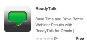 App Store ReadyTalk 293x146pxl