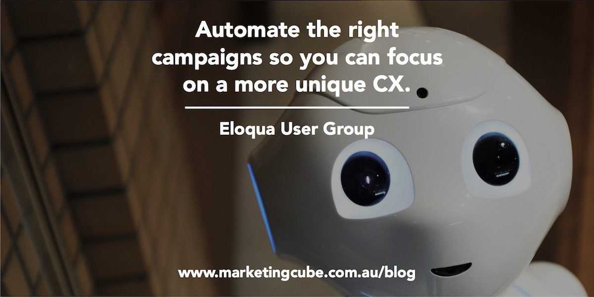 BANNER Social Automate the right campaigns so you can focus on a more unique CX User Group 1200x600pxl