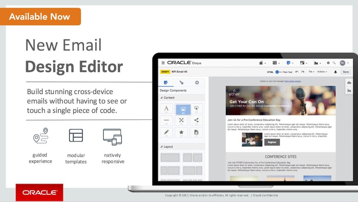 ORACLE Design Editor Available Now 1200pxl