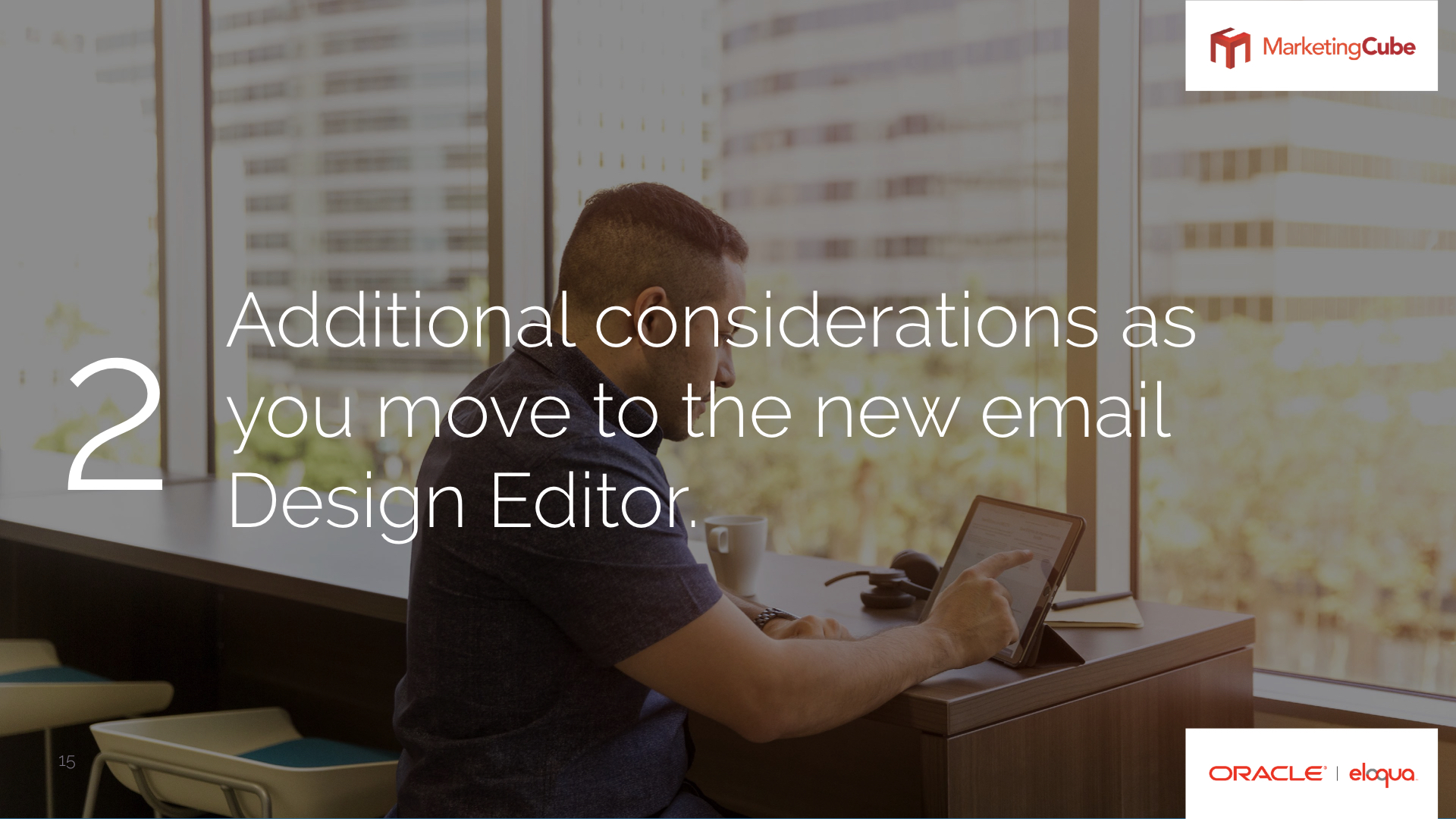 The new Eloqua Email Design Editor – a hands on tour.