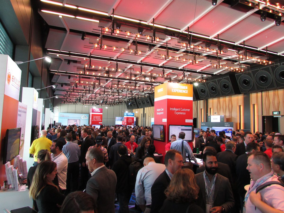 Oracle CloudWorld 2018
