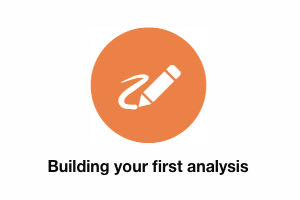 BUTTON Building your first analysis INSIGHT OMC Help Centre