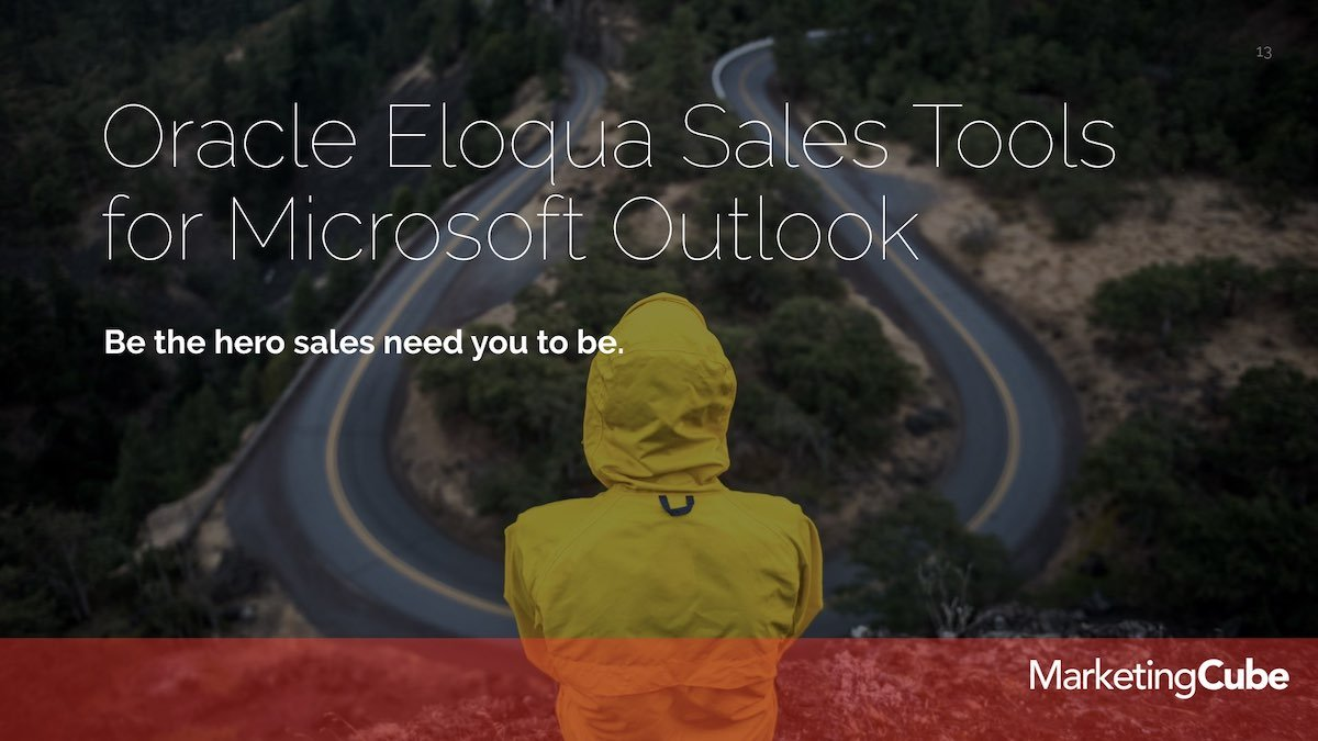 20190226 Sales Tools FEB Eloqua User Group