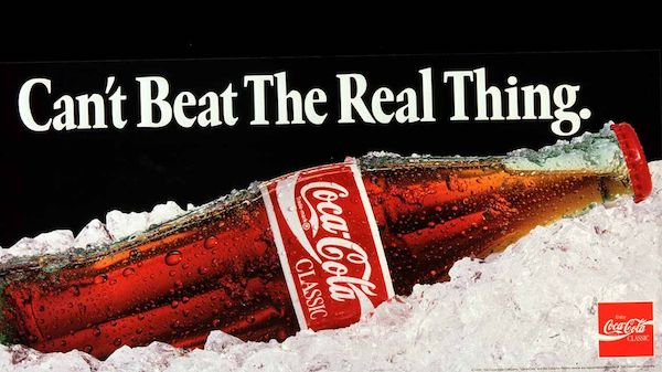 CocaCold Cant beat the real thing 600pxl