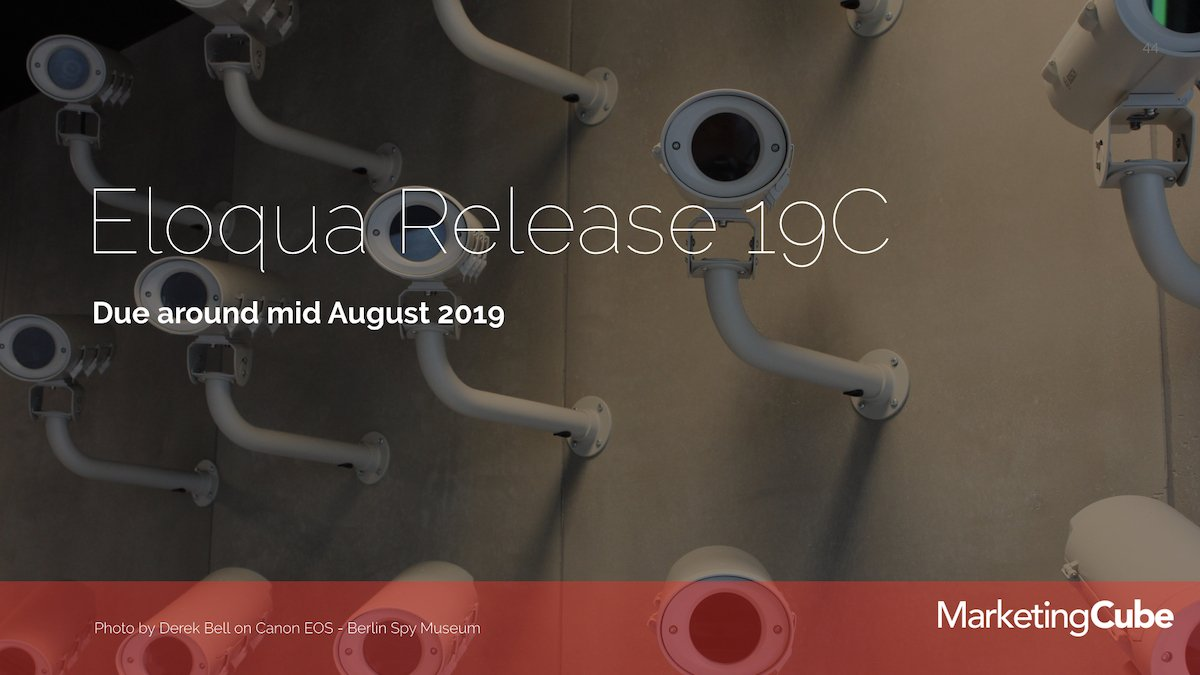 20190528 MAY Eloqua User Group Release 19C 1200pxl