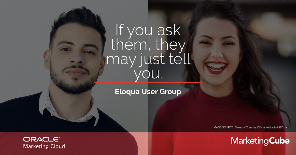 FEATURED IMAGE 20190528 MAY Eloqua User Group 1200x630pxl