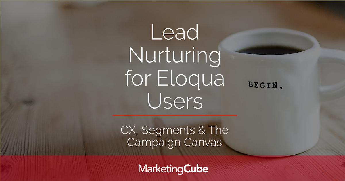20171107 FEATURED IMAGE Lead Nurturiung for Eloqua Users 1200x630pxl