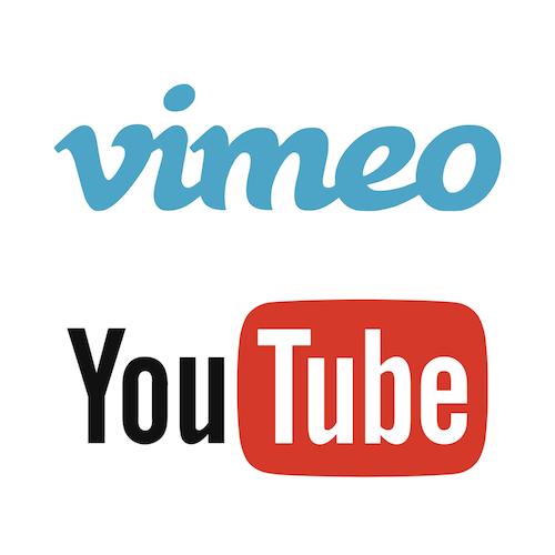 SQUARE Logos Vimeo YouTube 500x500pxl