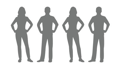 Female Male x 4 outline 500x287pxl