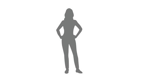 Female outline 500x287pxl