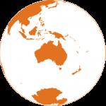 Globe Australia New Zealand 500x500pxl