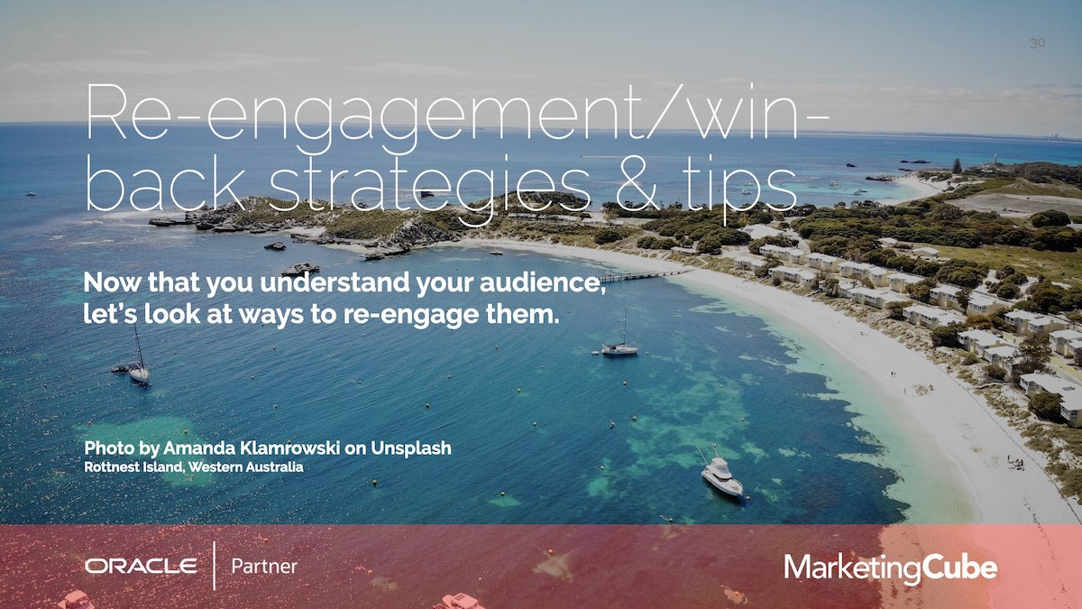 Strategies | How many of your Eloqua Contacts aren't you engaging with? | Re-engagement Strategies for Eloqua users.